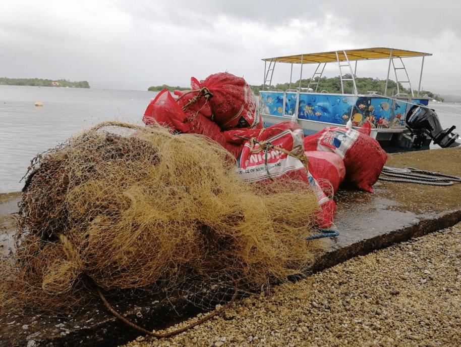 CLiP Ghost Gear Abandoned Net Removal Vanuatu TierraMar